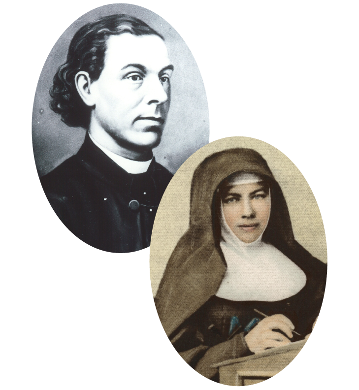 Mary MacKillop and Julian Tenison Woods