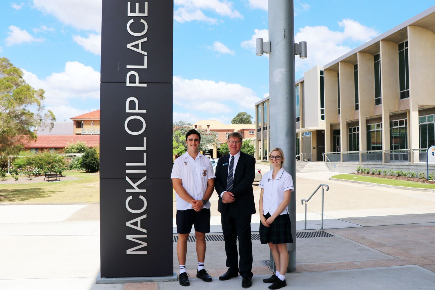 Image:Opening of MacKillop Place